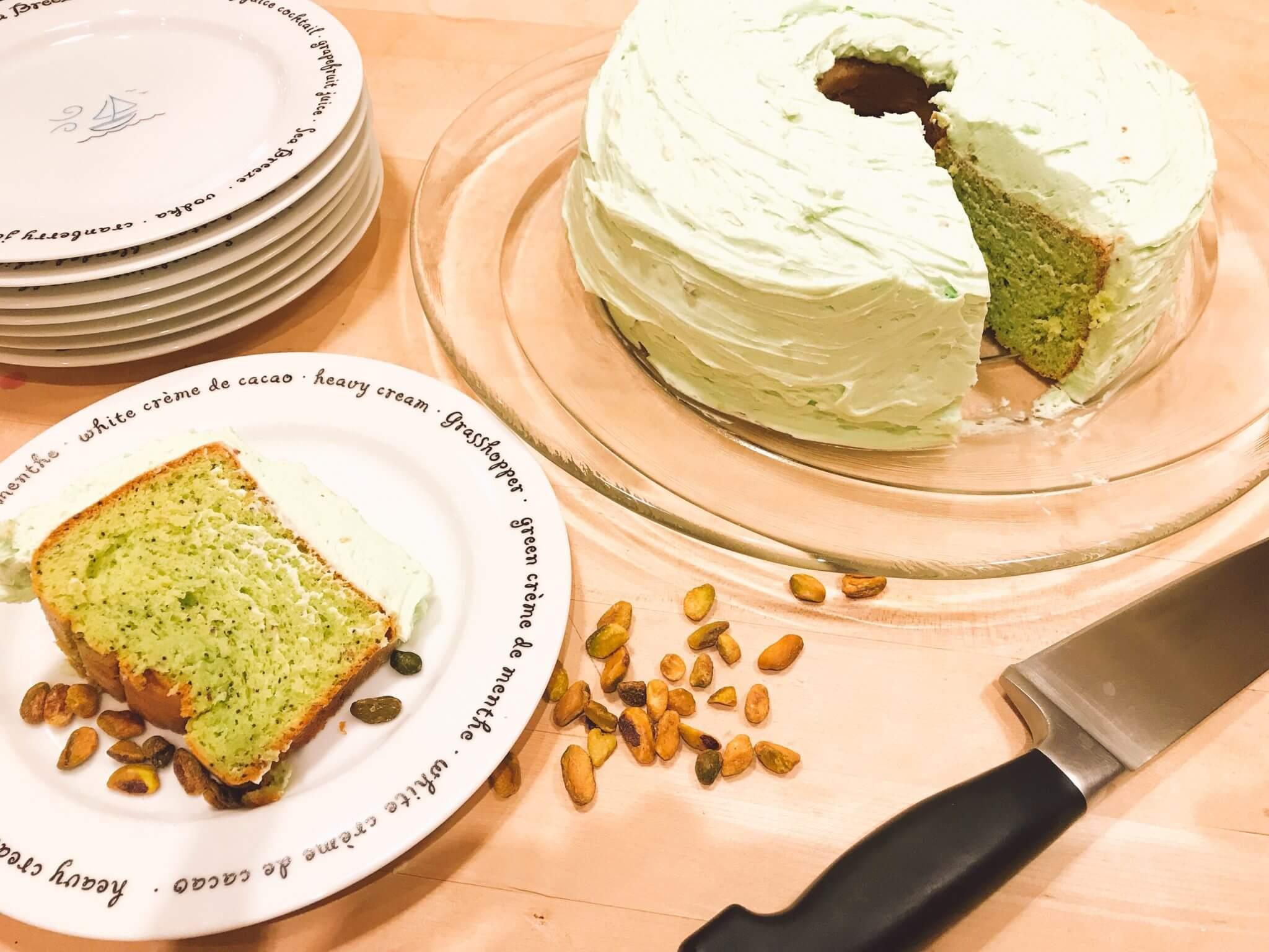 Pistachio Pudding Cake Recipe