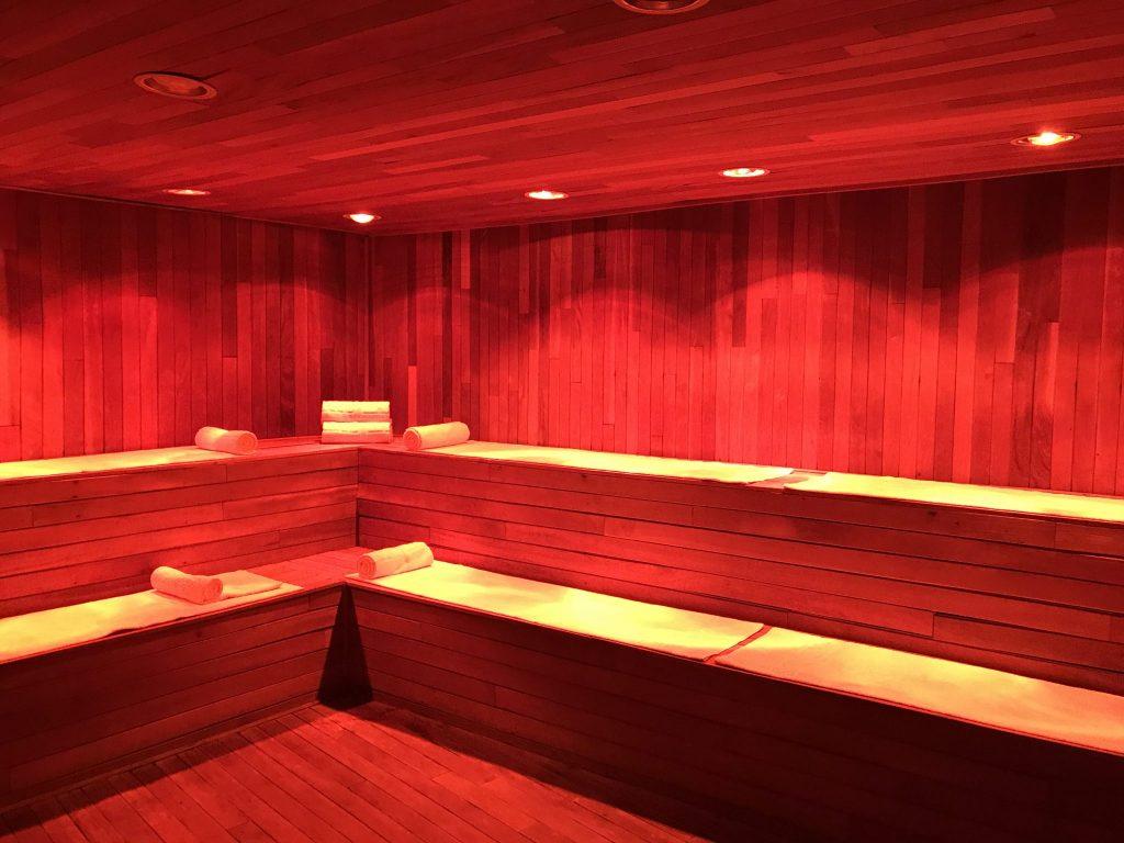 hot sauna Se Spa Riviera Maya
