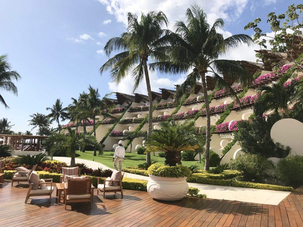 pool rooms at the Grand Velas Riviera Maya Resort