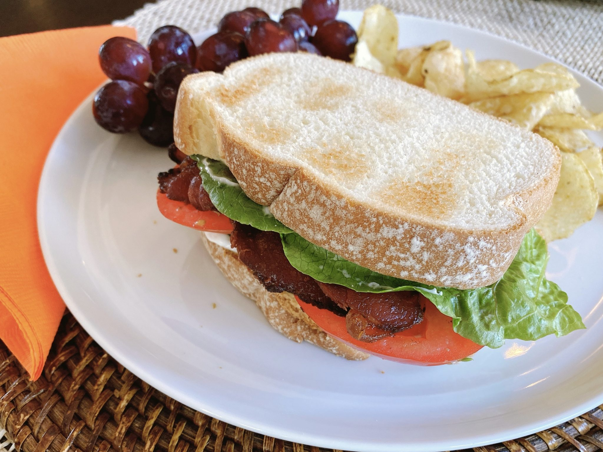 The Best Bacon, Lettuce & Tomato Sandwich Starts with the Bacon